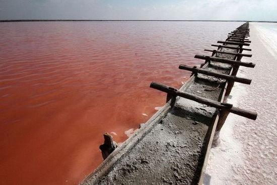 乌克兰锡瓦什湖